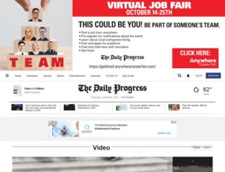 video.dailyprogress.com screenshot