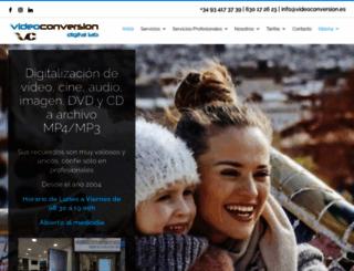 videoconversion.es screenshot