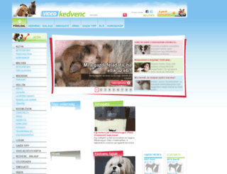 videokedvenc.hu screenshot