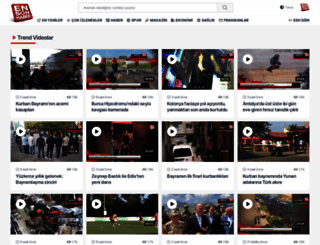 videonuz.ensonhaber.com screenshot