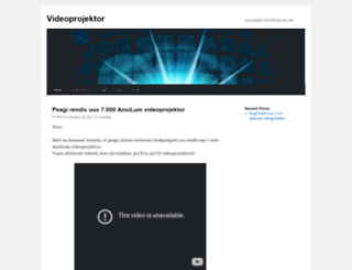 videoprojektor.wordpress.com screenshot