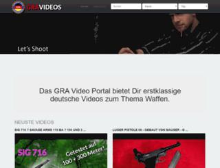 videos.german-rifle-association.de screenshot
