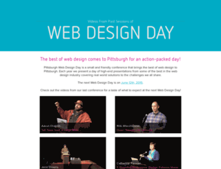 videos.webdesignday.com screenshot