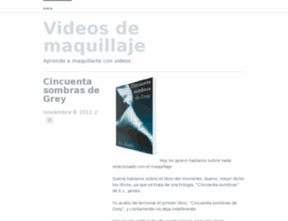 videosdemaquillaje.wordpress.com screenshot
