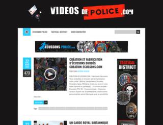 videosdepolice.com screenshot