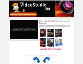 videostudiotutorials.com screenshot
