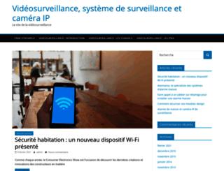 videosurveillances.eu screenshot
