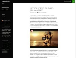 videosymusica.es screenshot