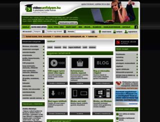 videotanfolyam.hu screenshot