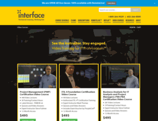 videotraining.interfacett.com screenshot
