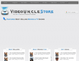 videouncle.co.uk screenshot