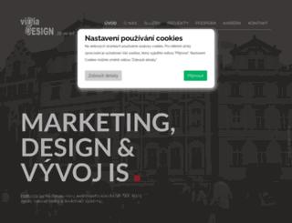 vidiadesign.cz screenshot