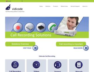 vidicode.com screenshot