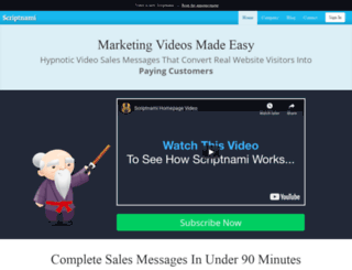 vidsy.com screenshot