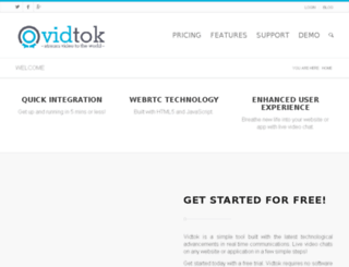 vidtok.co screenshot