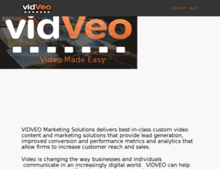 vidveo.com screenshot