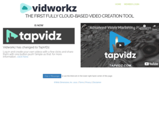 vidworkz.net screenshot