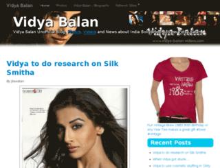 vidya-balan-videos.com screenshot