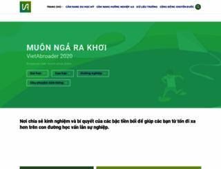 vietabroader.org screenshot