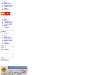 vietnamembassy-denmark.vn screenshot