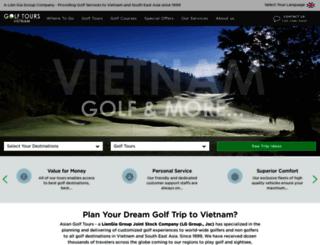 vietnamgolftours.com screenshot