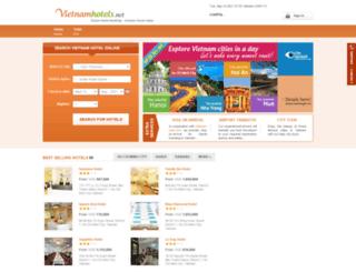 vietnamhotels.net screenshot