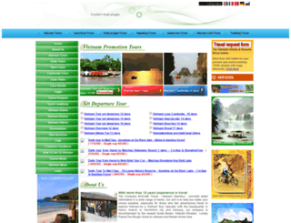 vietnamopentour.com screenshot