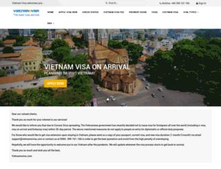 vietnamsvisa.com screenshot