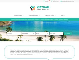 vietnamtourbooking.com screenshot