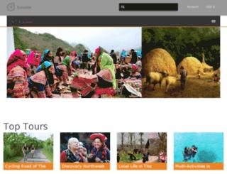 vietnamtoursinfo.com screenshot