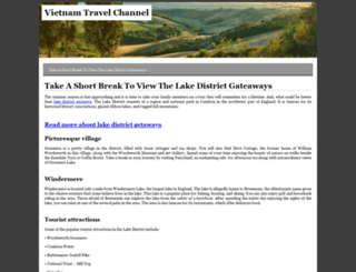 vietnamtravelchannel.com screenshot