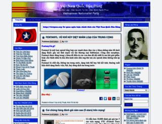 vietquoc.org screenshot