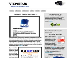 viewerjs.org screenshot