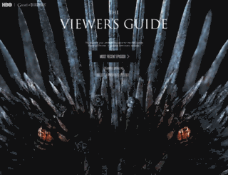 Access viewers guidehbo game of thrones viewers guide viewers guidehbo screenshot gumiabroncs Images