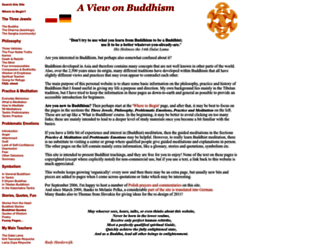 viewonbuddhism.org screenshot