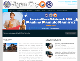 vigancity.gov.ph screenshot