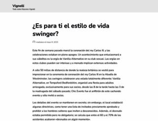 vignelli.com screenshot
