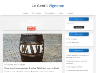 vignoble-rahard.fr screenshot