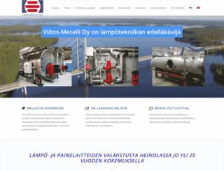 viitos-metalli.fi screenshot