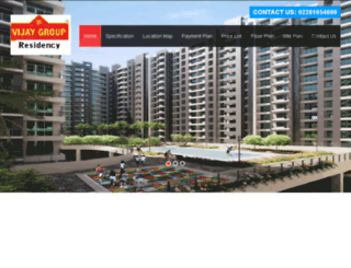 vijayresidency.co.in screenshot
