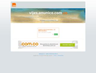 vijes.anunico.com.co screenshot