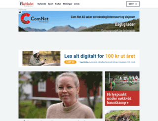 vikebladet.no screenshot