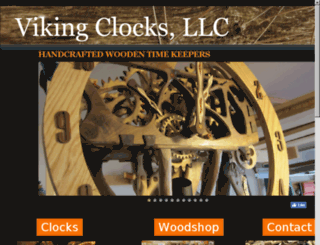 vikingclocks.net screenshot