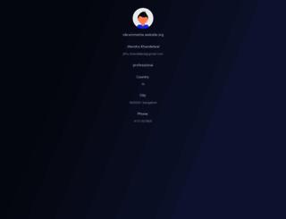 vikrammehta.website.org screenshot