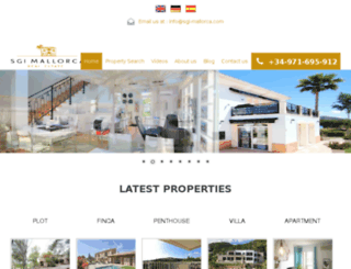 villa-in-mallorca.com screenshot