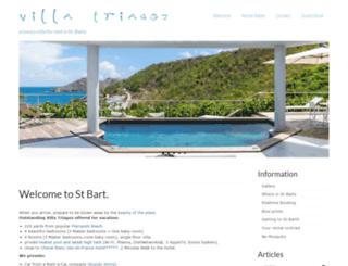 villa-triagoz.com screenshot