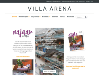 villaarena.nl screenshot