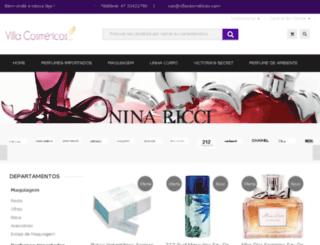 villacosmeticos.com.br screenshot