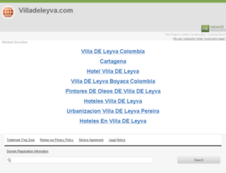 villadeleyva.com screenshot
