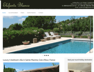 villaforrentsaintemaxime.com screenshot